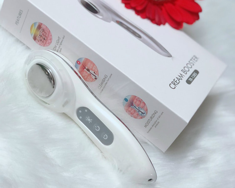 Máy massage mặt mini hấp thụ kem dưỡng TouchBeauty TB1385